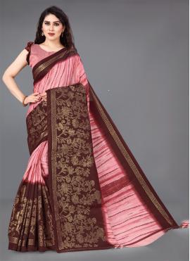 Cotton Multi Colour Designer Saree