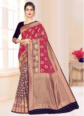Cute Banarasi Silk Traditional Saree