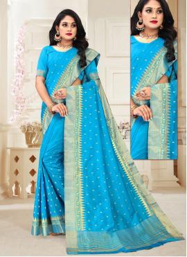 Cute Weaving Silk Designer Traditional Saree
