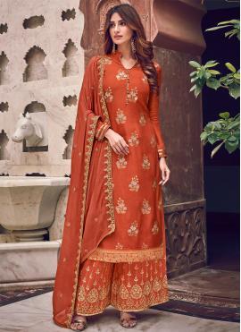 Dashing Woven Trendy Salwar Suit