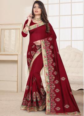 Delectable Classic Designer Saree For Ceremonial