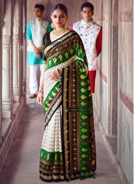 Delectable Patola Silk  Designer Saree