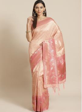 Delightful Weaving Designer Traditional Saree