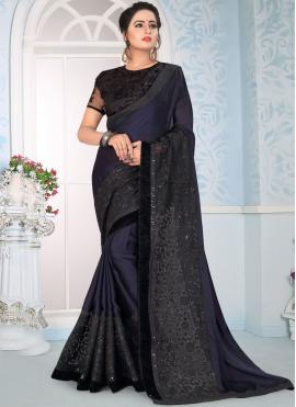 Demure Embroidered Traditional Designer Saree