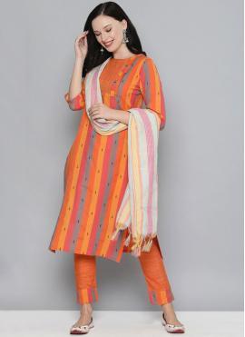 Demure Multi Colour Pant Style Suit