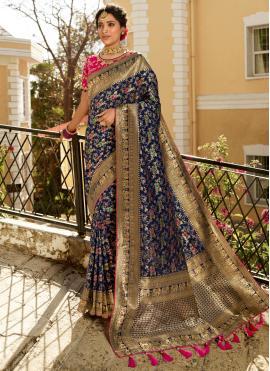 Demure Silk Party Trendy Saree