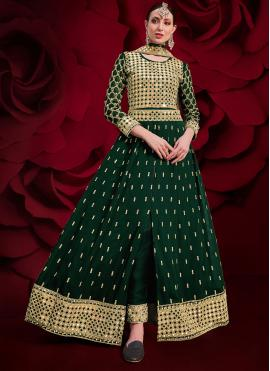 Desirable Embroidered Floor Length Anarkali Suit
