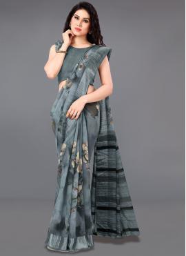 Distinctively Cotton Casual Saree