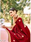 Distinguishable Fancy Fabric Patch Border Designer Traditional Saree - 2