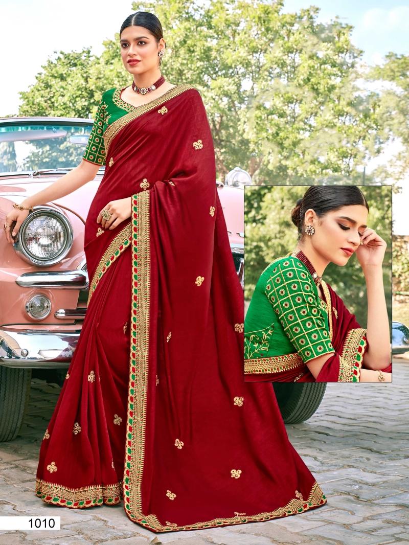 Distinguishable Fancy Fabric Patch Border Designer Traditional Saree