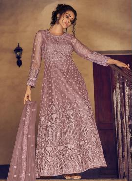 Distinguishable Fancy Party Floor Length Anarkali Salwar Suit