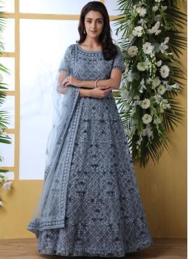 Elegant Net Designer Gown