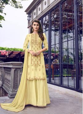 Elegant Zari Designer Salwar Kameez