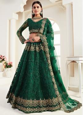 Elite Embroidered Bridal Lehenga Choli