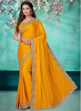Elite Satin Traditional Designer Saree