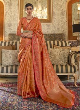 Elite Weaving Ceremonial Traditional Designer Saree