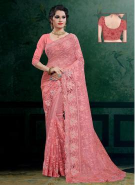 Enchanting Resham Reception Designer Saree