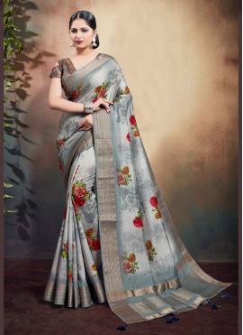 Entrancing Cotton Classic Saree