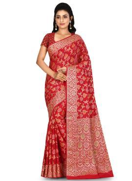 Epitome Weaving Banarasi Silk Bollywood Saree