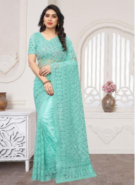 Exceeding Embroidered Wedding Classic Saree