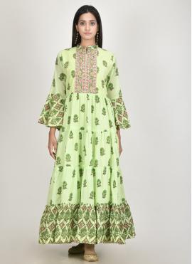 Excellent Cotton Silk Print Designer Kurti