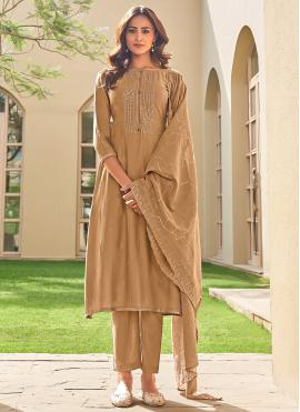 Excellent Embroidered Festival Pant Style Suit