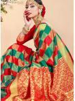 Exceptional Art Banarasi Silk Woven Traditional Saree - 2