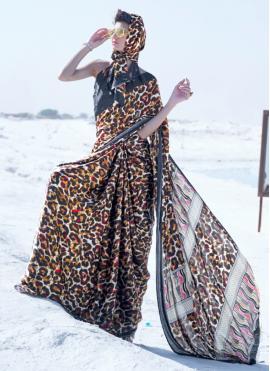 Exceptional Printed Classic Saree