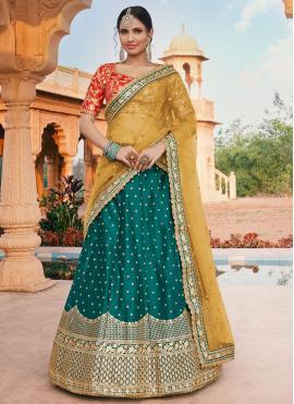 Exciting Handloom silk Lehenga Choli