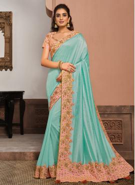 Exquisite Designer Traditional Saree For Sangeet