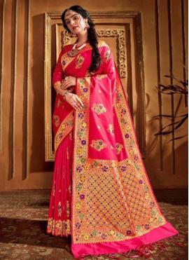Exuberant Classic Saree For Wedding