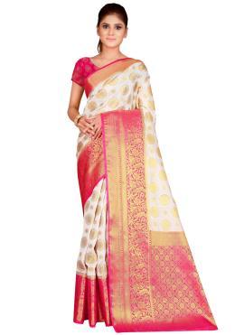 Fab Silk Traditional Saree