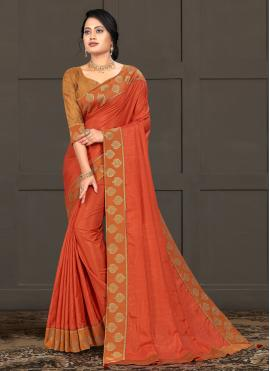 Fabulous Silk Lace Bollywood Saree