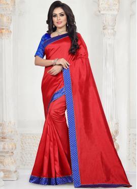 Fashionable Art Silk Festival Traditional Saree
