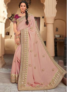 Fashionable Designer Saree For Engagement