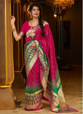 Festal Silk Wedding Designer Bollywood Saree