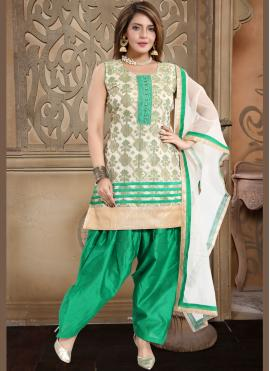 Fetching Fancy Banglori Silk Readymade Suit