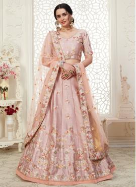 Flawless Pink Wedding Bollywood Lehenga Choli