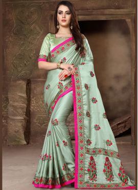 Girlish Art Silk Designer Traditional Saree