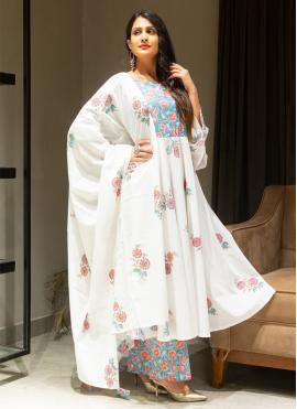 Glorious Print Cotton Salwar Suit