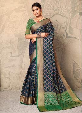 Glossy Silk Festival Classic Saree