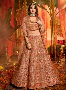 Graceful Embroidered Trendy Lehenga Choli