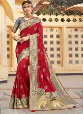 Graceful Weaving Classic Designer Saree