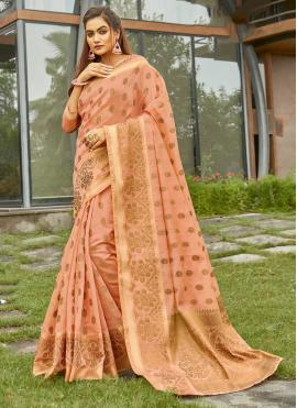Grandiose Handloom Cotton Traditional Saree