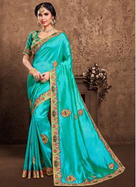 Grandiose Poly Silk Designer Saree