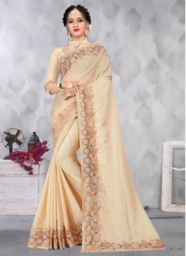 Gratifying Sequins Ceremonial Designer Saree