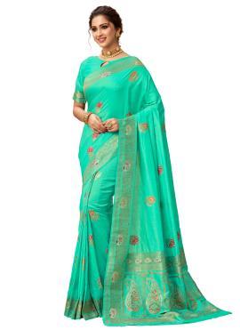 Gratifying Weaving Silk Classic Saree