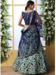 Green Art Silk Designer Lehenga Choli - 2
