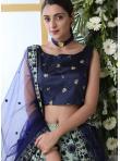Green Art Silk Designer Lehenga Choli - 3