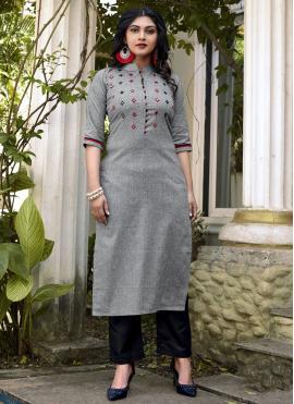 Haute Embroidered Designer Kurti
